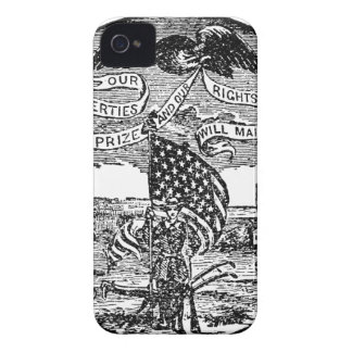 Our Liberties We Prize, Rights We Maintain iPhone 4 Case-Mate Cases
