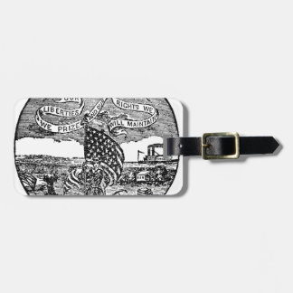 Our Liberties We Prize, Rights We Maintain Luggage Tag