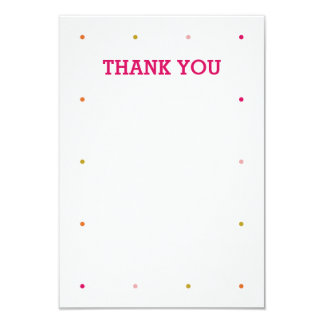 Our Little Cupcake Birthday Thank You Note 9 Cm X 13 Cm Invitation Card