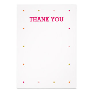Our Little Cupcake Birthday Thank You Note Personalized Invite