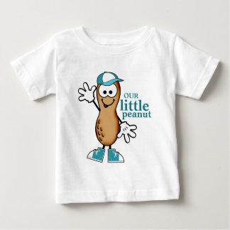 Our Little Peanut (Blue) Baby T-Shirt