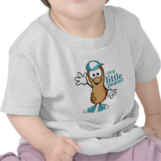 Our Little Peanut (Blue) Tee Shirts