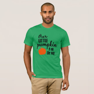 Our Little Pumpkin Is on the Way Halloween Tshirt