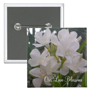 Our Love Blossoms Buttons