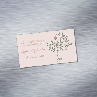 Our Love is Deeply Rooted Magnetic Business Card