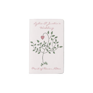 Our Love is Deeply Rooted Pocket Moleskine Notebook