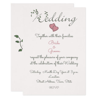 Our Love is Deeply Rooted Wedding Card