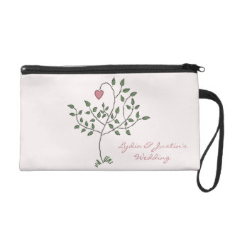 Our Love is Deeply Rooted Wristlet Purses