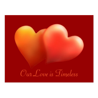 Our Love is Timeless - Postcard -Template