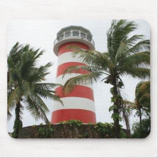 Our Lucaya Lighthouse Grand Bahamas Island Mouse Pad