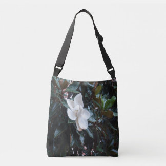 """""""Our Magnolia Tree After the Rain"""" Cross Body Tote"""