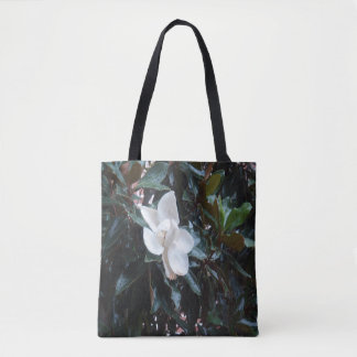 """Our Magnolia Tree After the Rain"" Custom Tote"