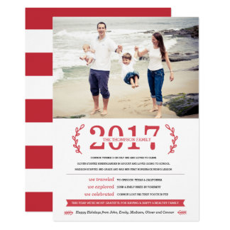 Our Memories Holiday Photo Card