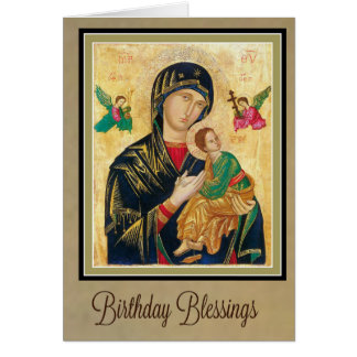 Our Mother of Perpetual Help Birthday Card