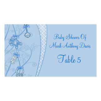 Our New Addition In Blue Hues Business Card Templates
