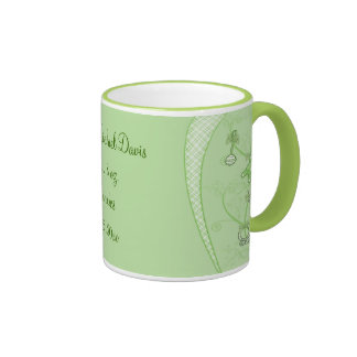 Our New Addition In Green Hues Coffee Mugs