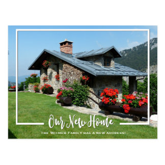 Our New Home Photo We've Moved Announcement Postcard