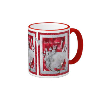 Our Newest Westies Misty and Muffin Customizable Coffee Mugs