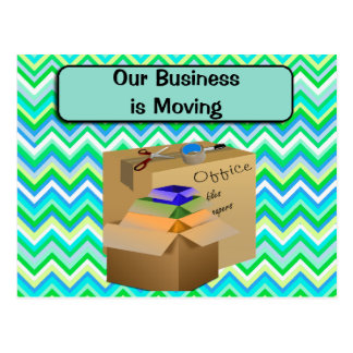Our Office is Moving, Business Announcement Postcard