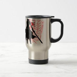 Our only hope warrior travel mug