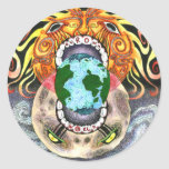 Our Own World by Tamsin Doherty Full-Colour Round Sticker