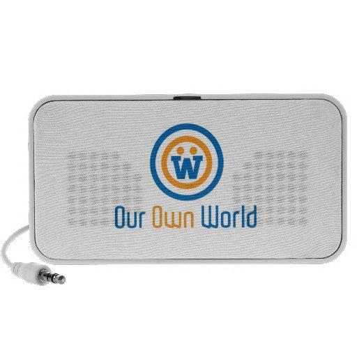 Our Own World Logo Speaker