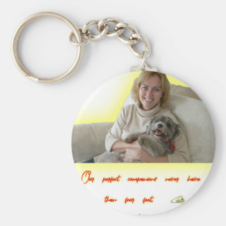 Our Perfect Companions Key Ring