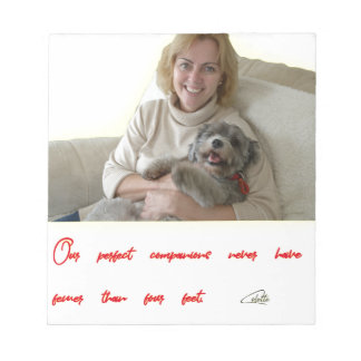 Our Perfect Companions Notepad