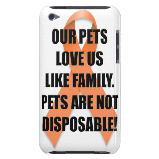 Our Pets Love Us Like Family iPod Case-Mate Cases