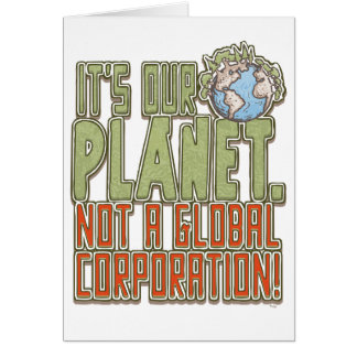 Our Planet Earth Day Greeting Card