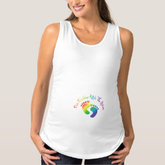 Our Rainbow After The Storm Maternity Tank Top