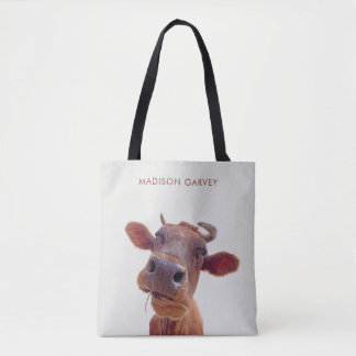 """Our Signature """"Moo Cow"""" Tote Bag"""