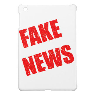 Our society is dominated by fake news iPad mini case