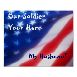 Our Soldier, Your Hero, My Husband Poster