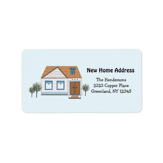 Our Stylish Home New Address Address Label