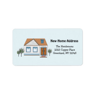Our Stylish Home New Address Label