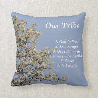 Our Tribe, Uplifting, KIndness, Encouragement Cushion