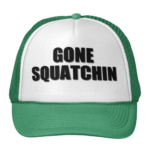 Our very best seller Bobo's GONE SQUATCHIN Mesh Hat