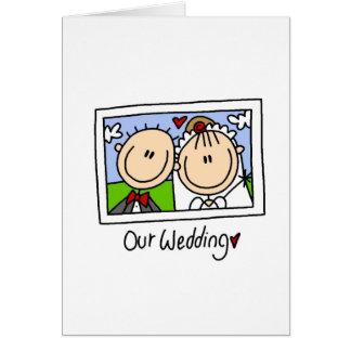 Our Wedding Card