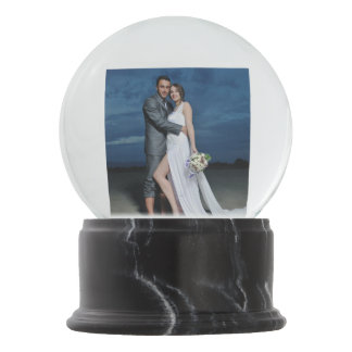 Our Wedding Souvenir Snow Globes