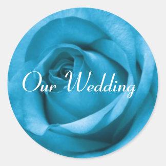 Our Wedding sticker