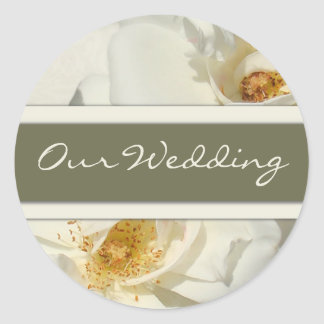 Our Wedding Stickers