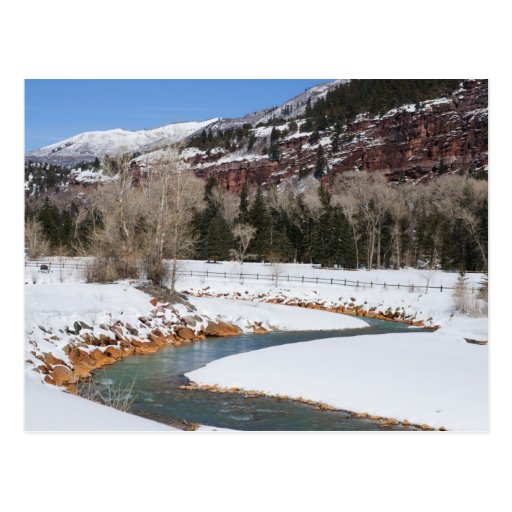 Ouray, Colorado in Winter Post Card