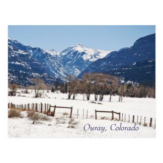 Ouray, Colorado in Winter Postcard