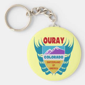 Ouray, Colorado Key Ring