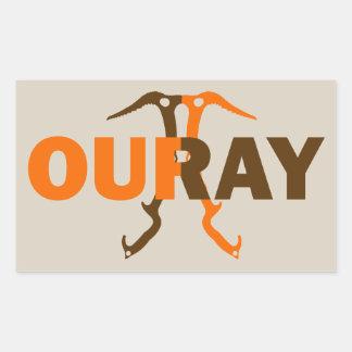 Ouray Colorado Rectangular Sticker