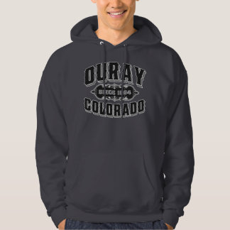 Ouray Since 1884 Black For Dark Hoodie
