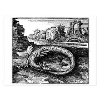 Ouroboros Dragon Gifts - Postcard