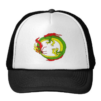 Ouroboros Dragon Trucker Hat