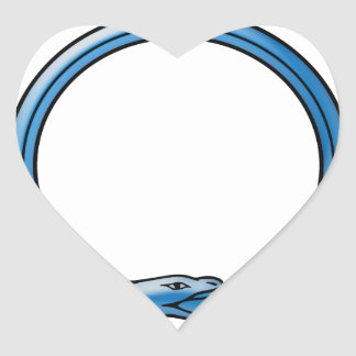 Ouroboros Heart Sticker